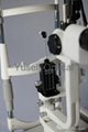 Tonometer in Slit Lamp