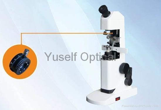 Manual Lensmeter with Prism Compensation