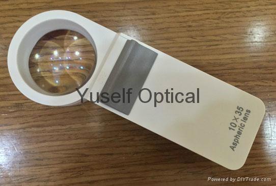 10X Pocket Aspheric Magnifier
