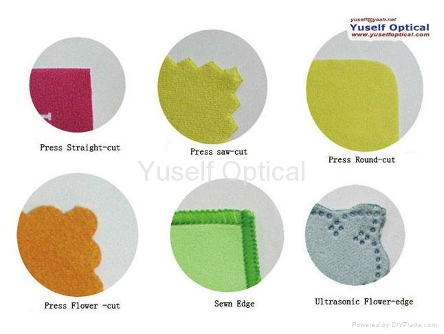 microfiber cleaning cloth processing