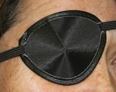 Black Traditional Eye Patch