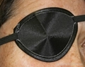 Black Traditional Eye Patch