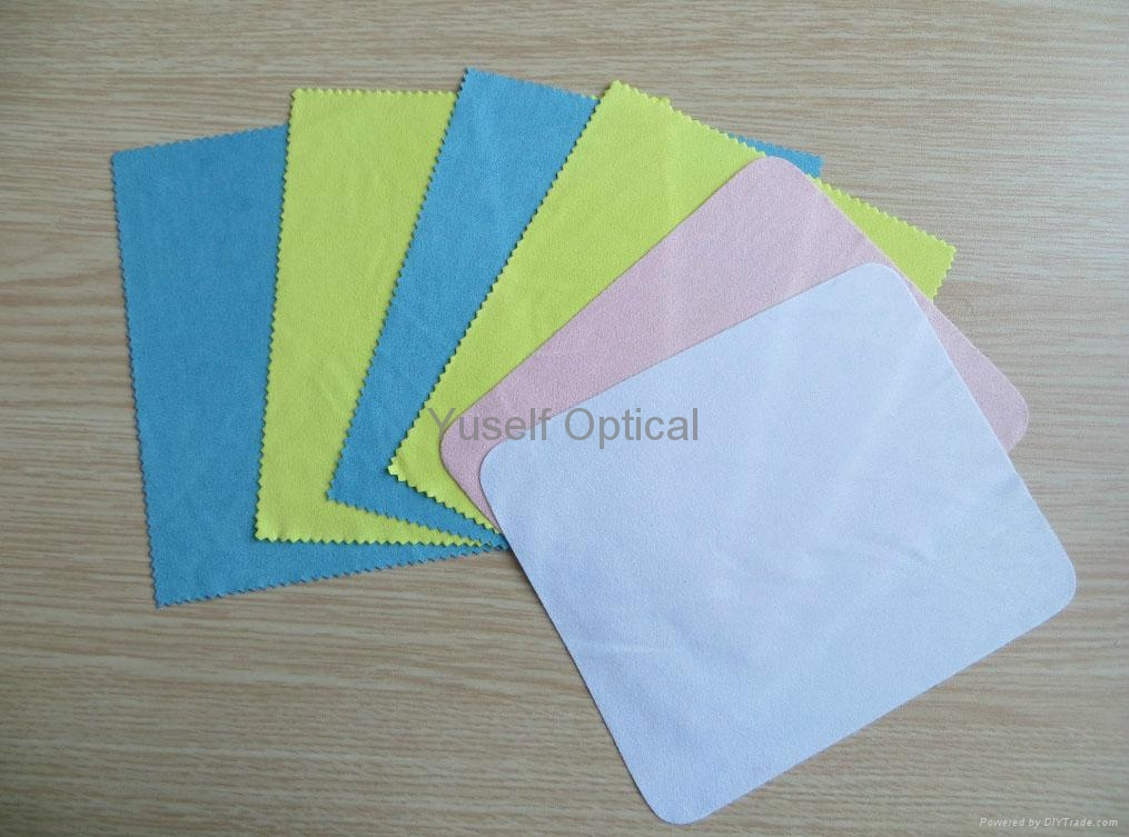 Chamois/Suede (190-230g) Microfiber Lens Cleaning Cloth 3