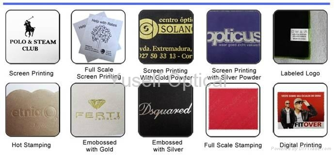 Ophthalmic Instrument Cleaning Cloth Digital printing embossed print silk print 7