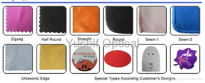 Chamois/Suede (190-230g) Microfiber Lens Cleaning Cloth 7