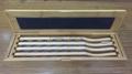 Wooden retinoscopy racks in Bamboo case 3