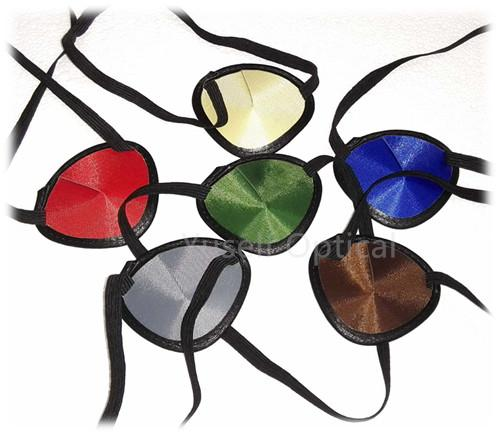 colorful traditional eye patches