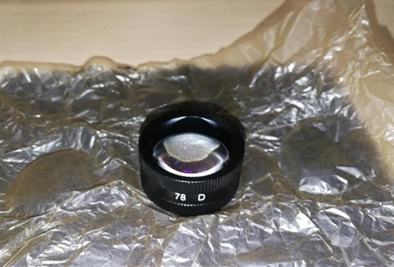 slit lamp lens