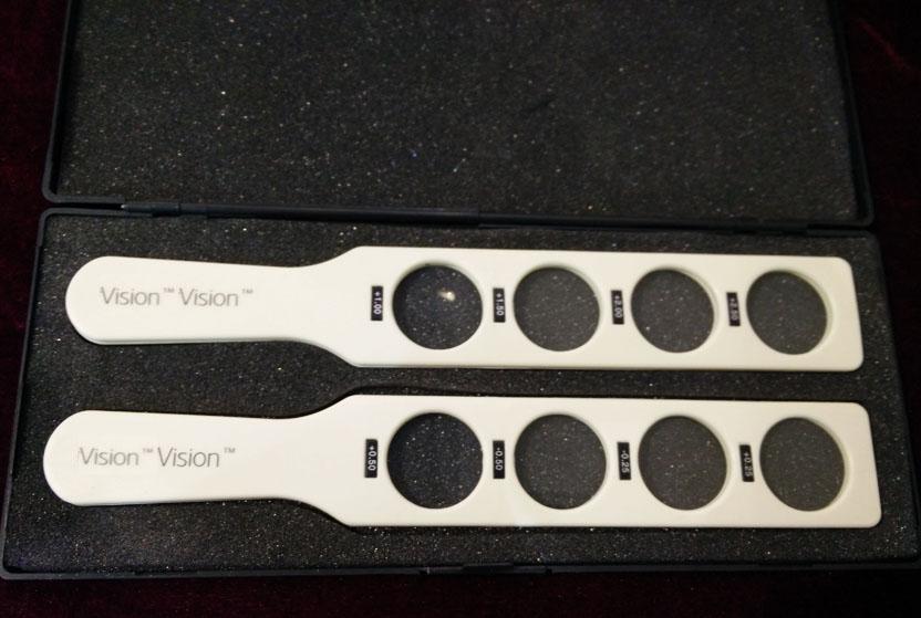 retinoscopy racks