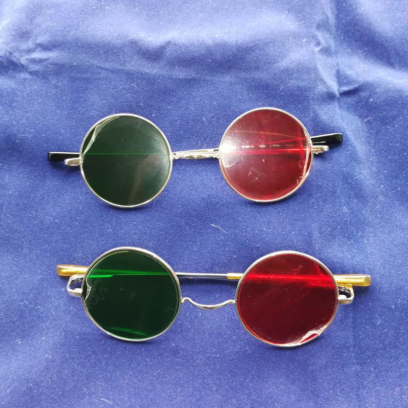 Red/Green spectacles