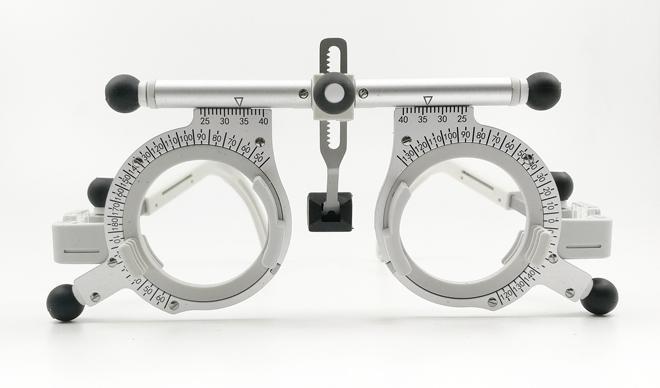 black knob universal trial frame