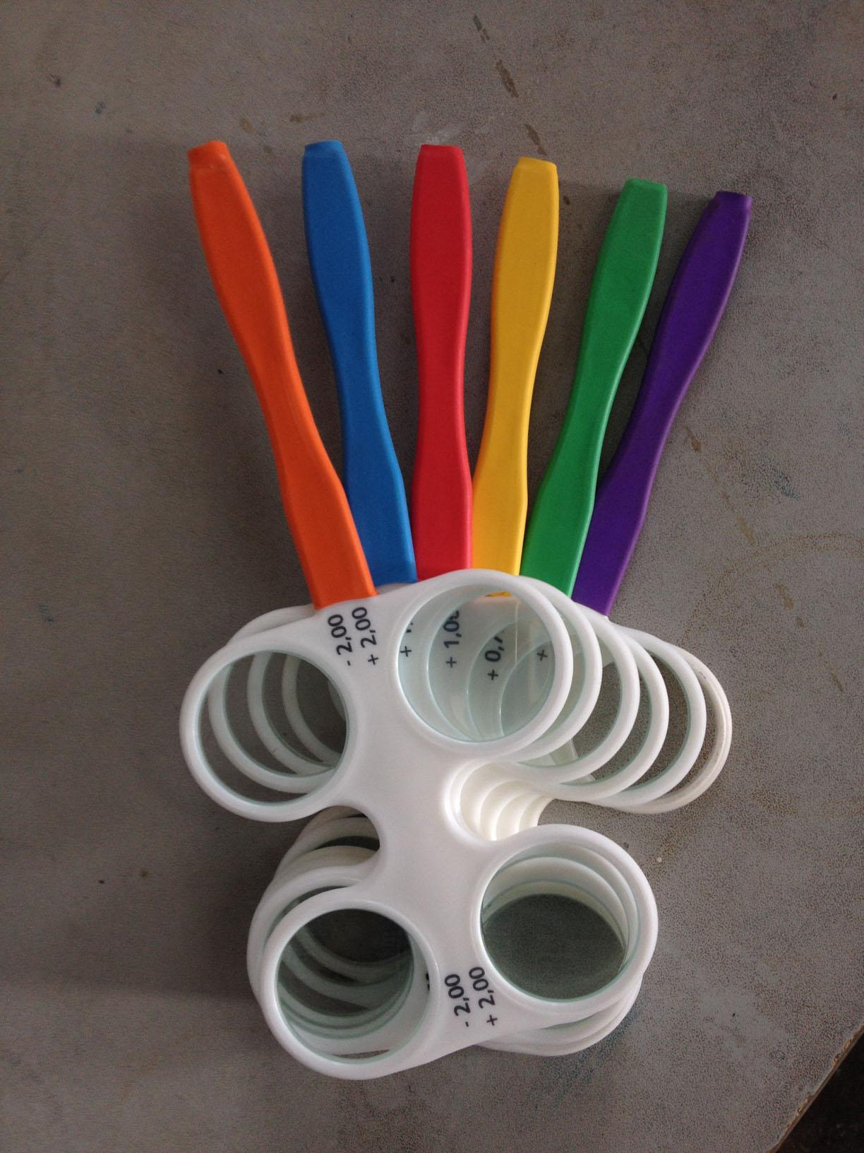 Colorful Handle Flipper Set 6