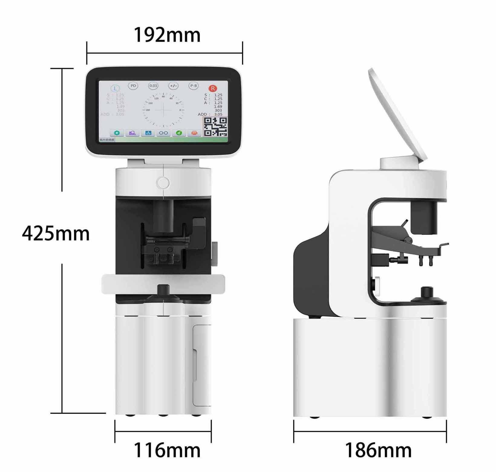 Portable auto Lensometer  2