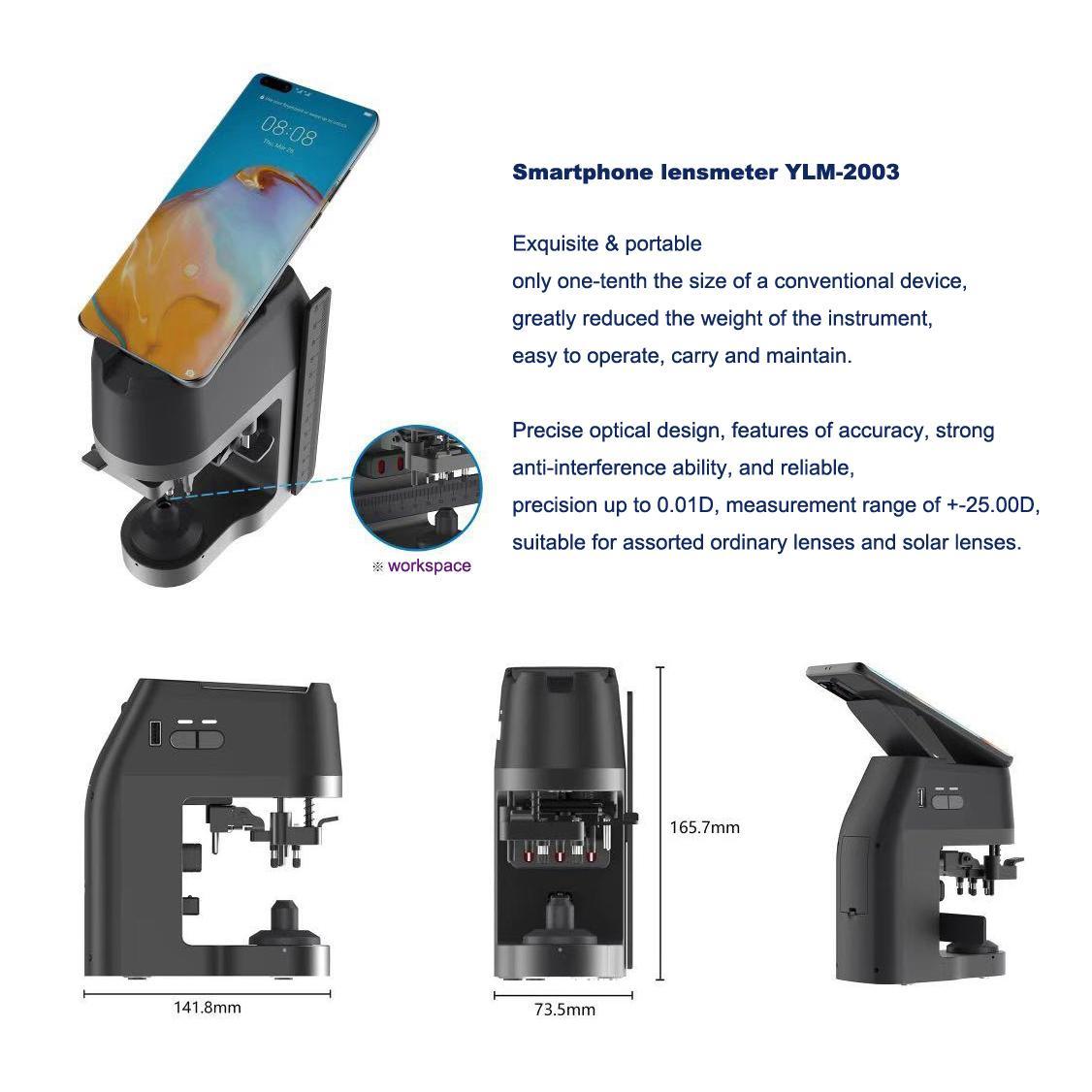 Smartphone lensmeter YLM-2003 3