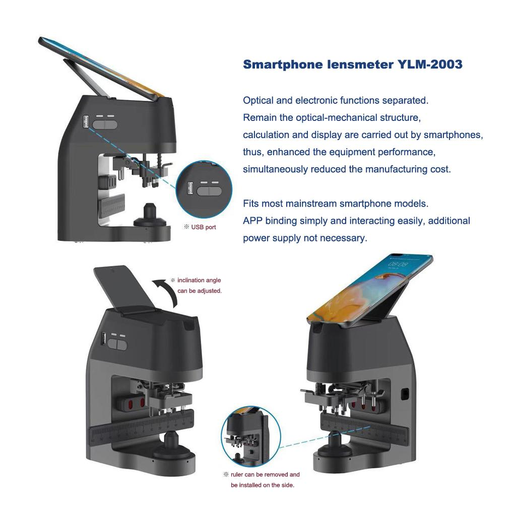 Smartphone lensmeter YLM-2003 2