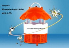 USB Mosquito Killer Lamp Photocatalyst Flycatcher Zapper with 6 LED Night Light