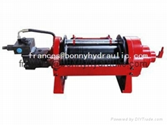 hydraulic self recovery winch(20ton)