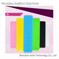 2013 Perfume external battery harga power bank 800--2600mAh optional