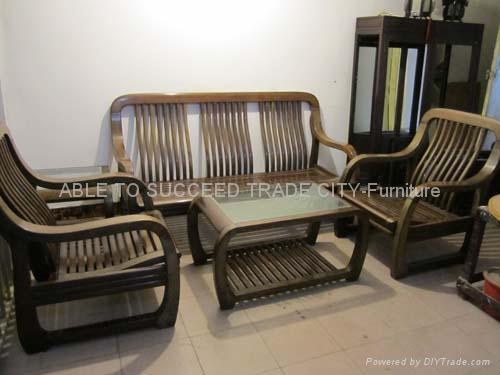 Rosewood sofa set, set of 5 pcs - Macau S.A.R - Manufacturer ...
