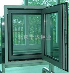 北京肯德基門鋁型材
