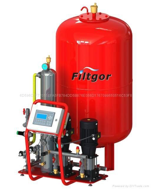 TP型定压补水真空排气机组 1