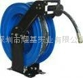 Automatic rewind oil hose reels