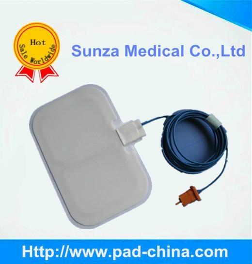 ESU plates, ECG electrodes, ESU pencil, Valleylab ground pad, 2