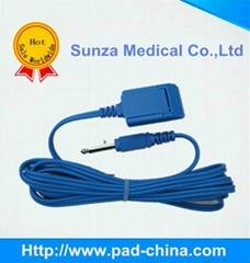 medical connecting cables, grounding pad connector,cables,wires for ESU
