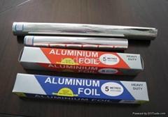 8011 O Temper 9 Microns 300mm Width Aluminium Foil Roll