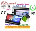2 Din GPS Navigation Support RDS system Android 4.0 Universal Car Audio DM7835C