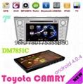 7寸雙錠豐田凱美瑞專用車載DVD車載電腦car-pad帶安卓4.0平板電腦 3