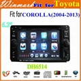 6.2inch Touch Screen Car DVD Player for Toyota Corolla in Dash DH6514   2