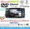 6.2寸双锭比亚迪F3专用车载DVD车载导航仪 5