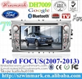 """7"""" Win CE 6.0 car dvd player for ford focus BT GPS 3g Stereo FM SWC touch screen 5"""