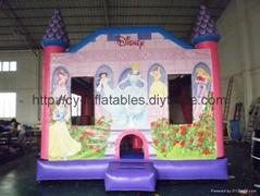 Inflatlabe Princess Castle
