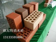 页岩烧结清水墙砖