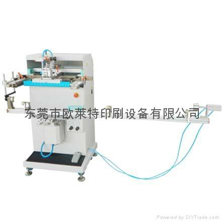 The dedicated solar tubes round face screen printer 5