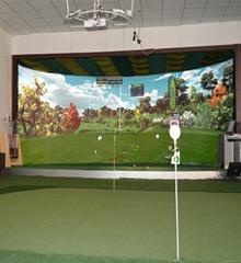 北京室內高爾夫高速攝像環屏款
