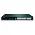 ECOM S2516 16口百兆汇聚隔离802.1Q VLAN交换机 4