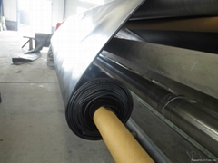 Top class USA GRI-GM13 standard ASTM double side smooth HDPE geomembrane