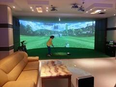 BO高速摄像室内高尔夫