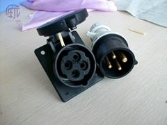 PCE高電壓500V-690V工業插頭插座