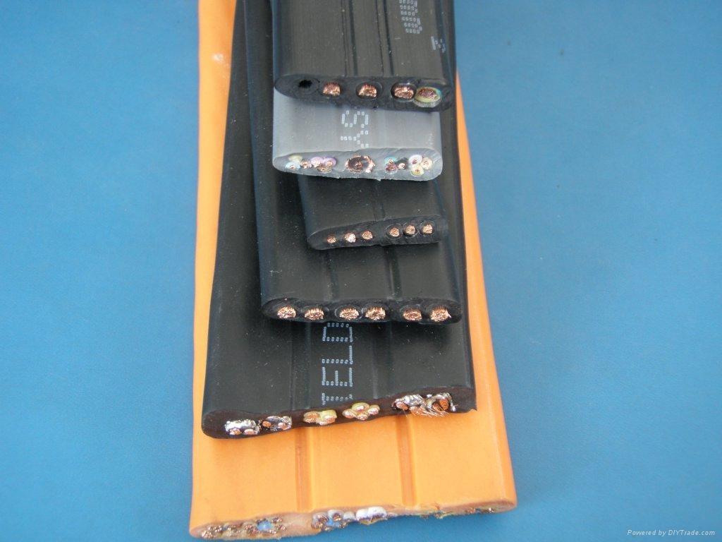 Flat Flexible Control Cable For Elevators Tvvb Echu