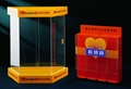 Plexiglass, acrylic, coated, plastic box