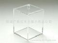 时尚家居装饰品 亚克力水晶棉签盒/储藏盒 XI9017