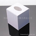 压克力 有机玻璃 亚克力正方纸巾盒 XI8065