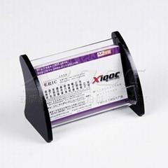 Acrylic business card card rack