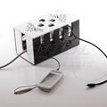 亚克力激光雕花 线盒理线器插座整理箱电线收纳盒