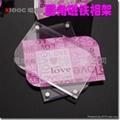 亞克力6寸/4R 圓角磁鐵水晶相架/相框 XI6003A