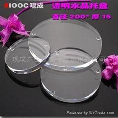 壓克力.有機玻璃 圓形水晶塊 XI5002A